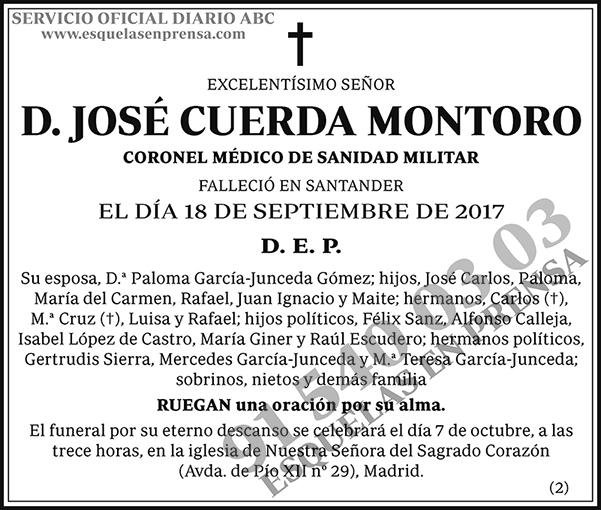 José Cuerda Montoro